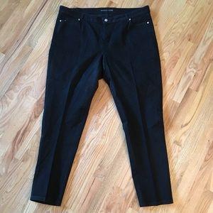 Michael Kors black skinny jeans size 20W